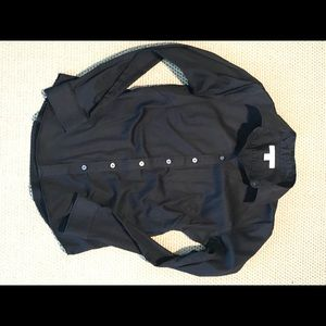 Black Banana Republic Button-down
